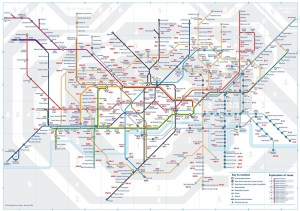 postcode tube - The Tube Map: Now With Added Postcodes