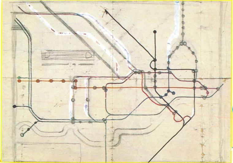 maps 5 1024x720 - Remarkable old Tube maps show how London Underground network has changed over the past 100 years