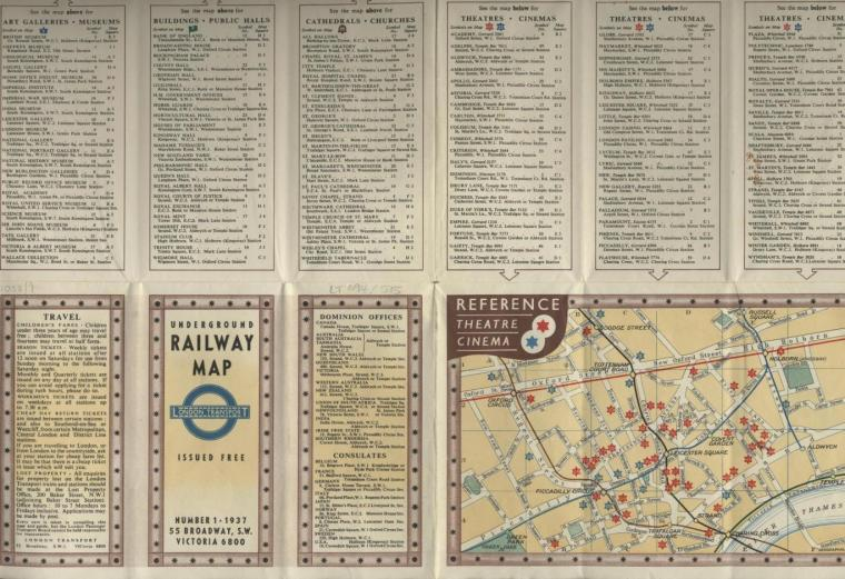maps 6 1024x702 - Remarkable old Tube maps show how London Underground network has changed over the past 100 years