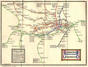 maps 8 - Remarkable old Tube maps show how London Underground network has changed over the past 100 years