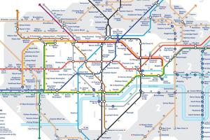 walk the tube map - The 'Walk the Tube' maps