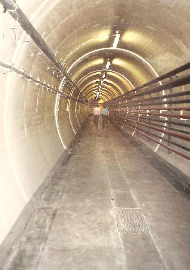 men6 - Underground Manchester: The tunnels, tube station shops hidden beneath the city's streets
