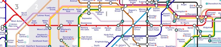 central lien - The Tube Map, Redesigned By A Tooting Resident