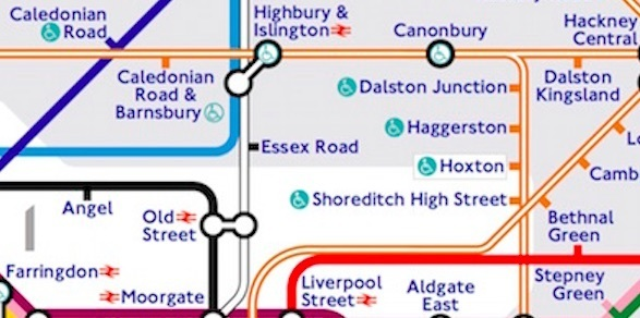 step free - The Tube Map, Redesigned By A Tooting Resident