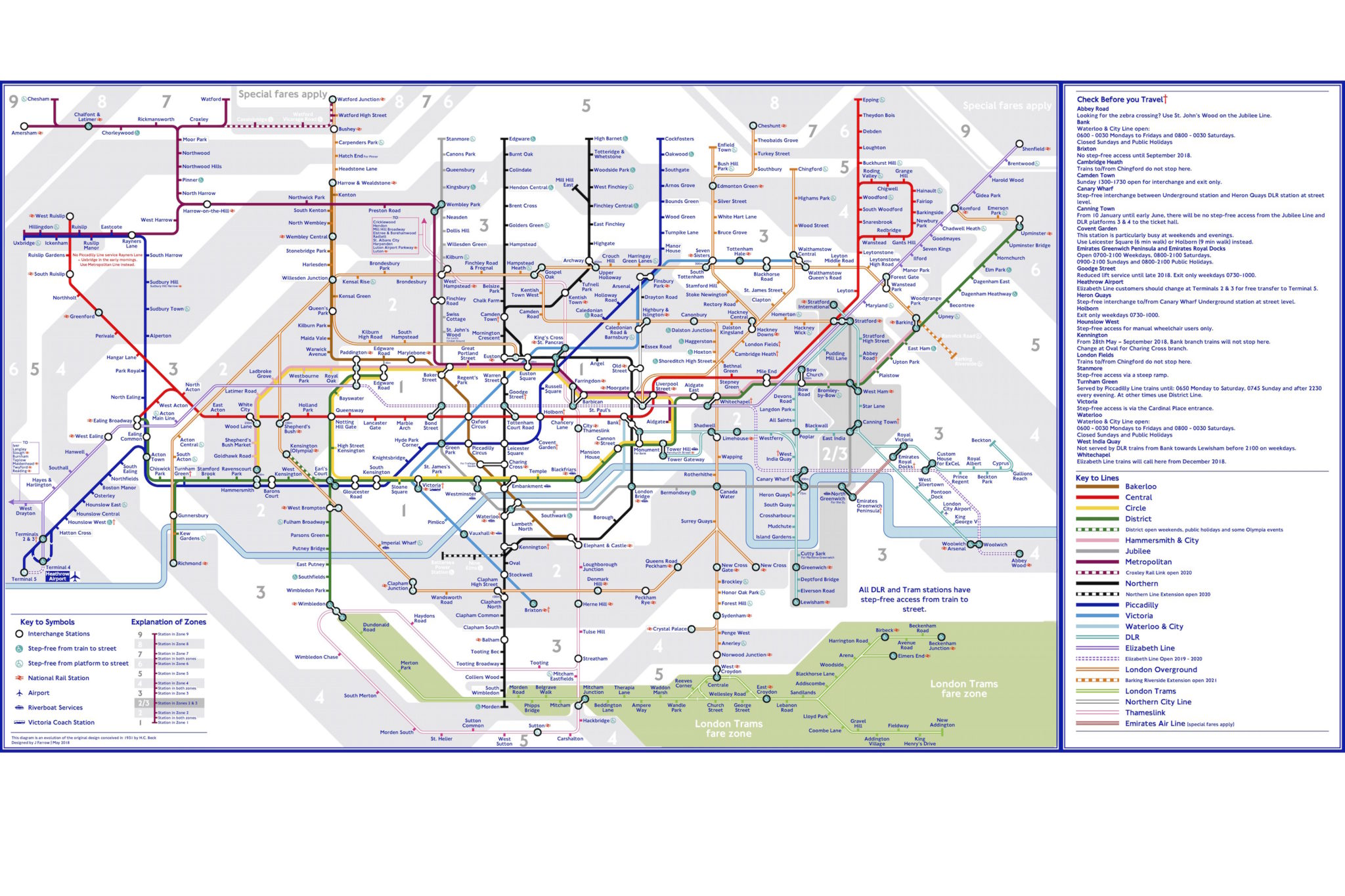 The Tube Map, Redesigned By A Tooting Resident | Last Train