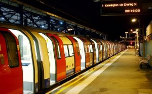 an empty train on a deserted platform wa 104689993 5b2232236be58 - London's emptiest Tube stations revealed