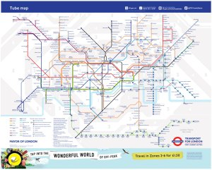 tube map december 2018 - London Underground releases a new tube map