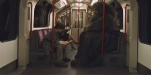 Harry Potter Deleted Scene Tube Hagrid 600x300 - Harry Potter and his adventures on the London Underground