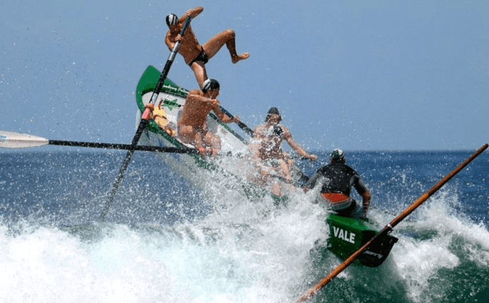 Surfboat Rowing