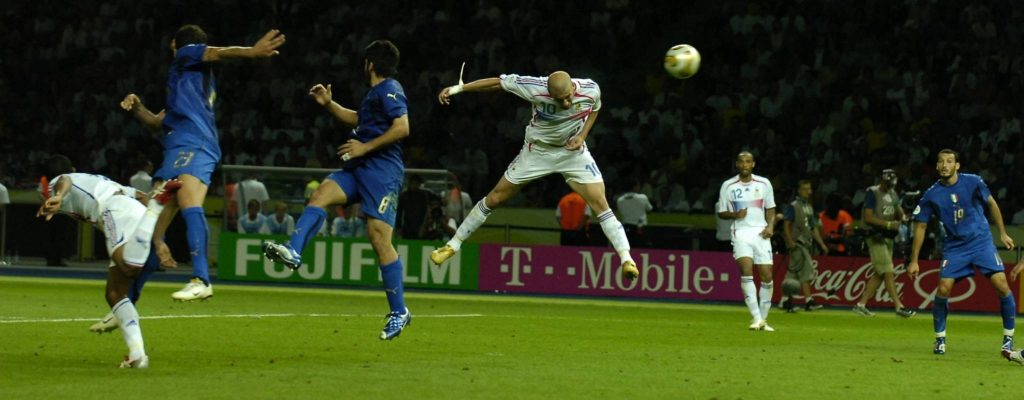 Zidane Coupe du Monde 2006