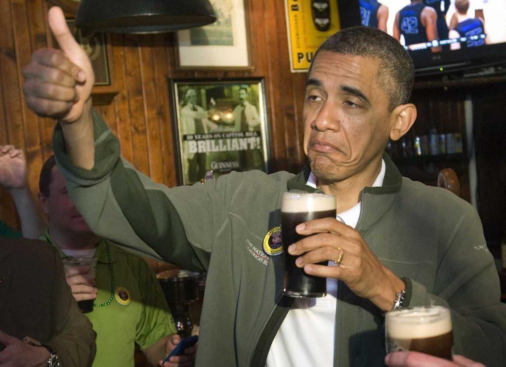 Bière-running-obama