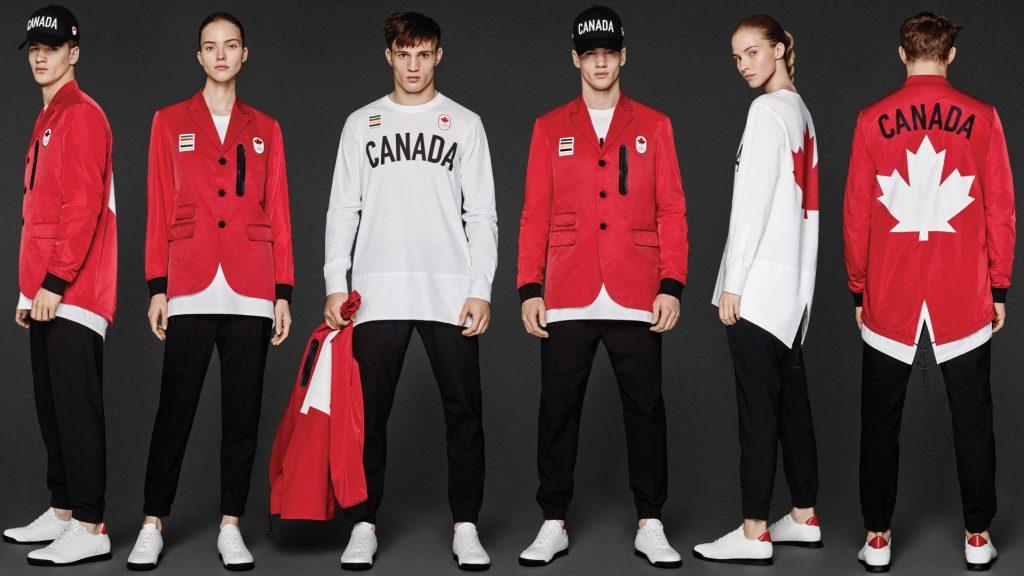 tenues des JO 2016 - Canada