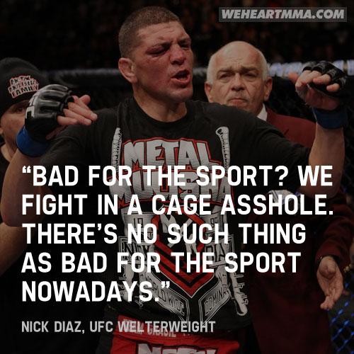 Nate Diaz - MMA imprévisible