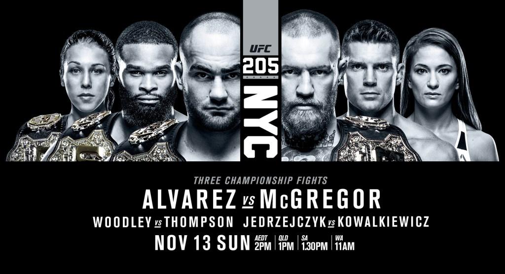 UFC 205 - le Monster Truck au pays des Berlines