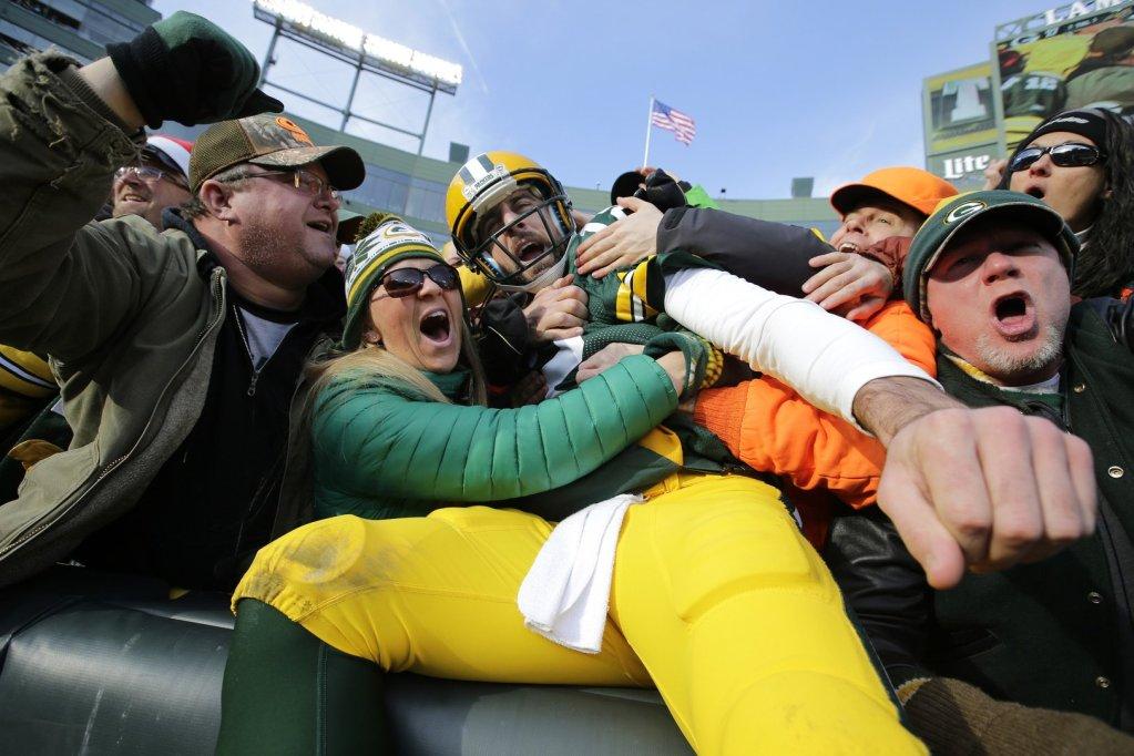 Packers vs. Vikings - Aaron Rodgers, le magnifique