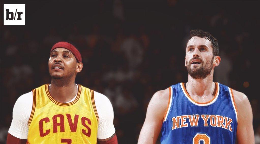 Les New York Knicks auraient tenté un échange Melo-Love