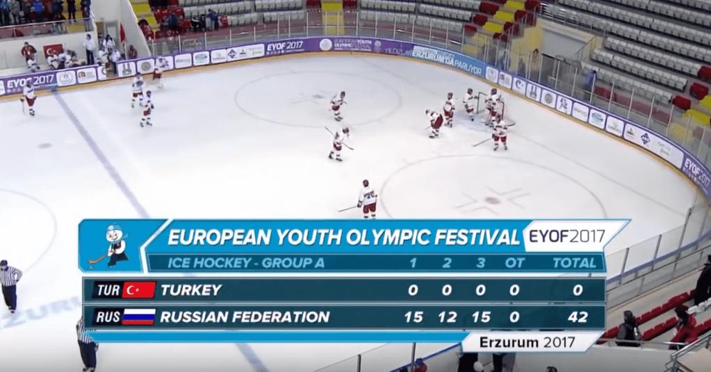 Lors de l'EYOF 2017, la Russie explose la Turquie 42-0