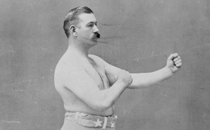 John L. Sullivan, Boston Strong Boy – dernier champion de boxe à mains nues