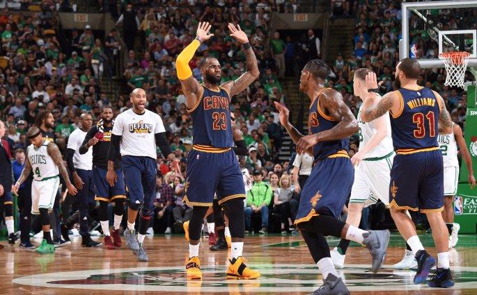Les Cleveland Cavaliers en démonstration totale contre les Boston Celtics