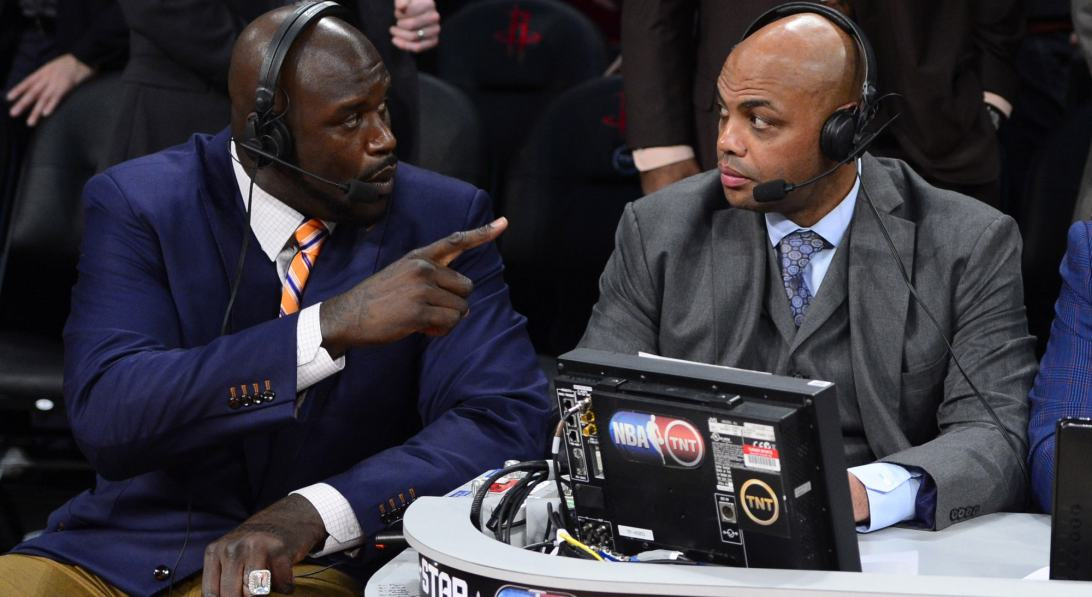 Shaquille O'Neal et Charles Barkley s'embrouillent en direct à la TV