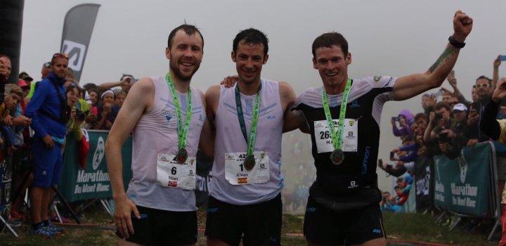 Kilian Jornet remporte le marathon du Mont-Blanc