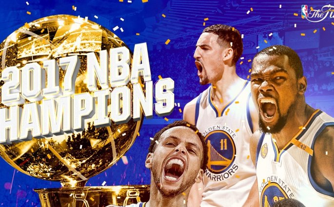 Les Golden State Warriors sont champions NBA 2017 !