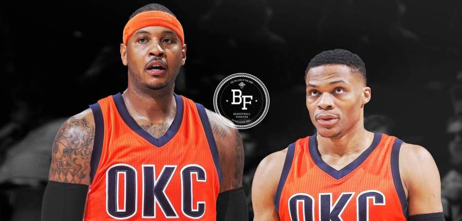 Carmelo Anthony débarque à Oklahoma City Thunder !