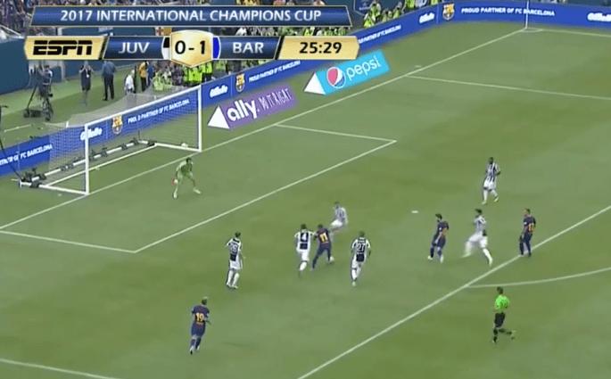 Neymar humilie toute la défense de la Juventus pour un but somptueux