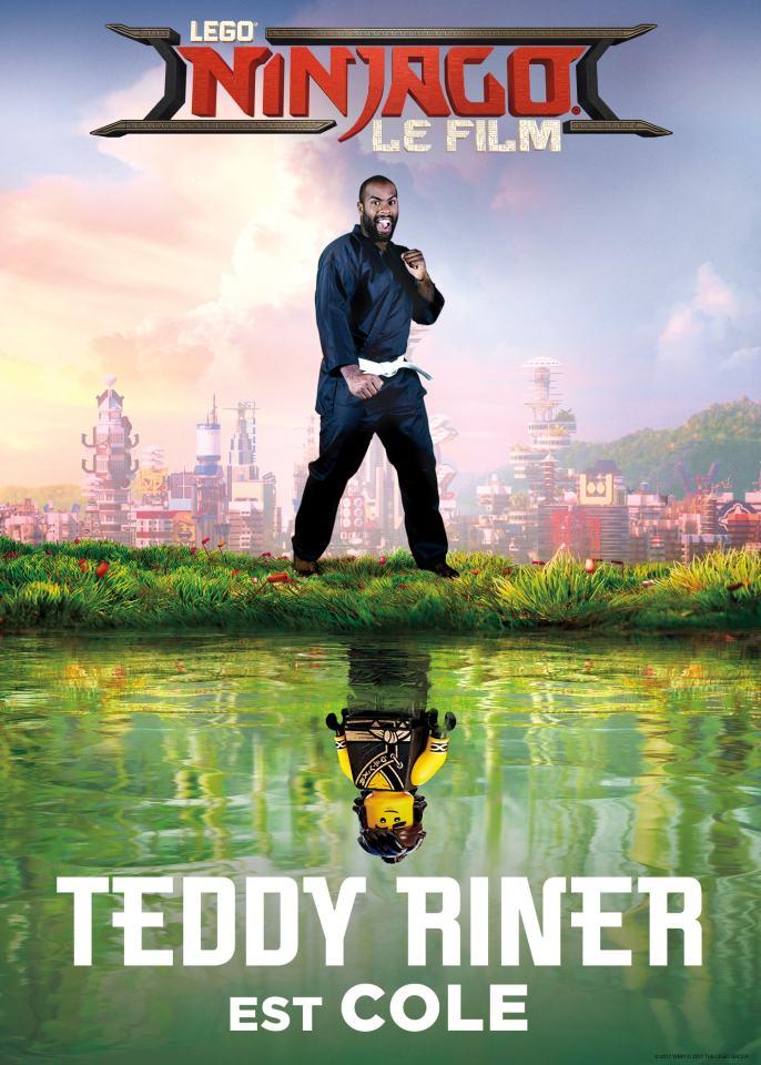 Teddy Riner va faire ses débuts au cinéma!