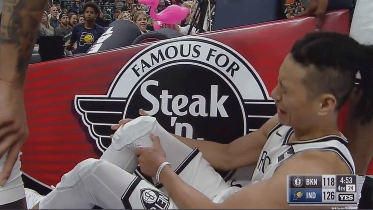 Fin de saison après un seul match pour Jeremy Lin (Brooklyn) — NBA
