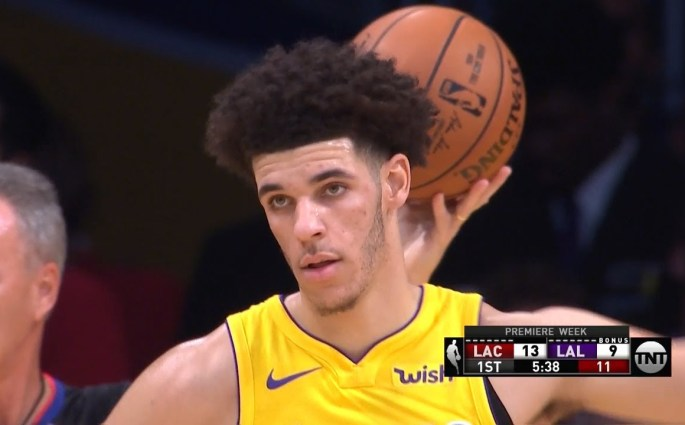 Lonzo Ball Lakers Clippers