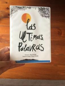 Las Ultimas Palavras - DVD