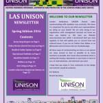 LAS UNISON Launch Newsletter