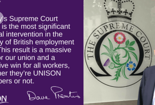 UNISON's tribunal fee verdict is a victory for everyone in work