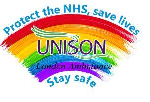 LAS UNISON Rainbow Badges