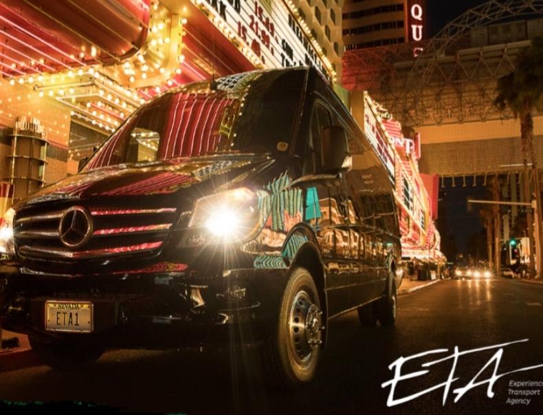Merecedes Sprinter Rental Las Vegas with Driver1