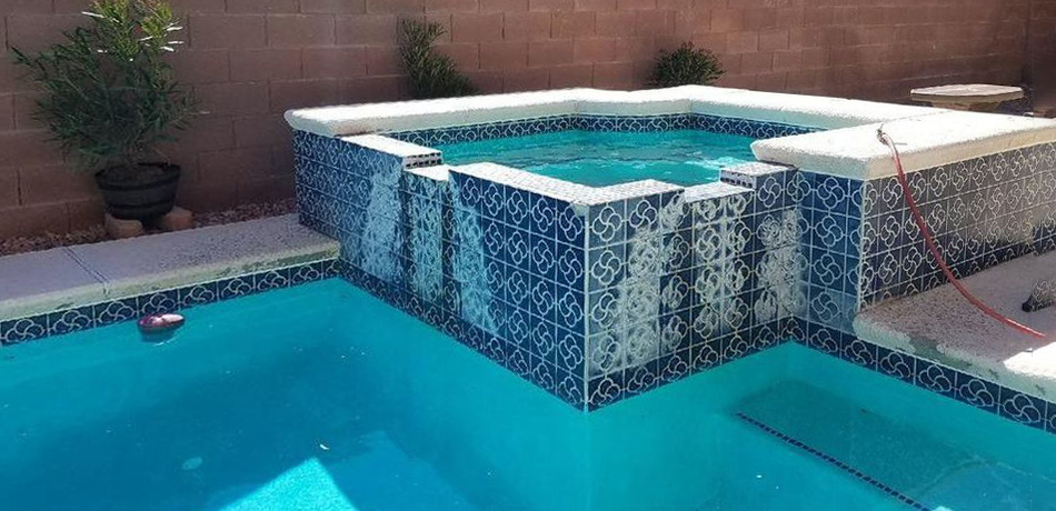 Clarity Pool Service - Before Bead Blast Swimming Pool Cleaner