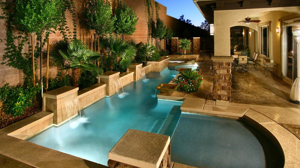 Custom Swimming Pool Design Concept