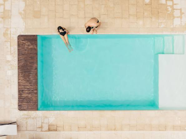 Rectangle Shaped Pool Design - Clarity Pool Service of Las Vegas, Nevada