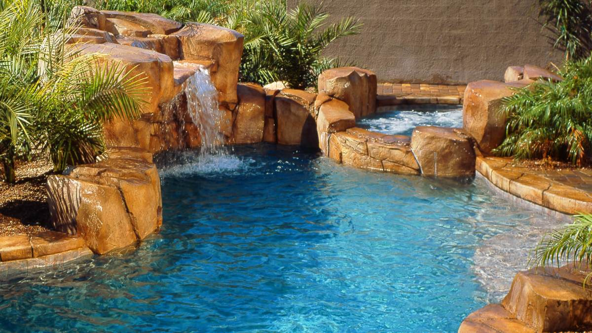 Swimming Pool Water Features - Clarity Pool Service