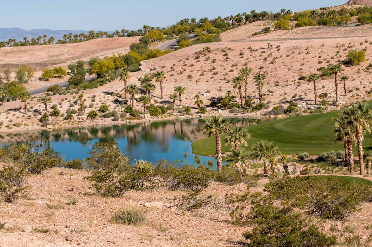 Summit Club Golf Course View From the Custom Home