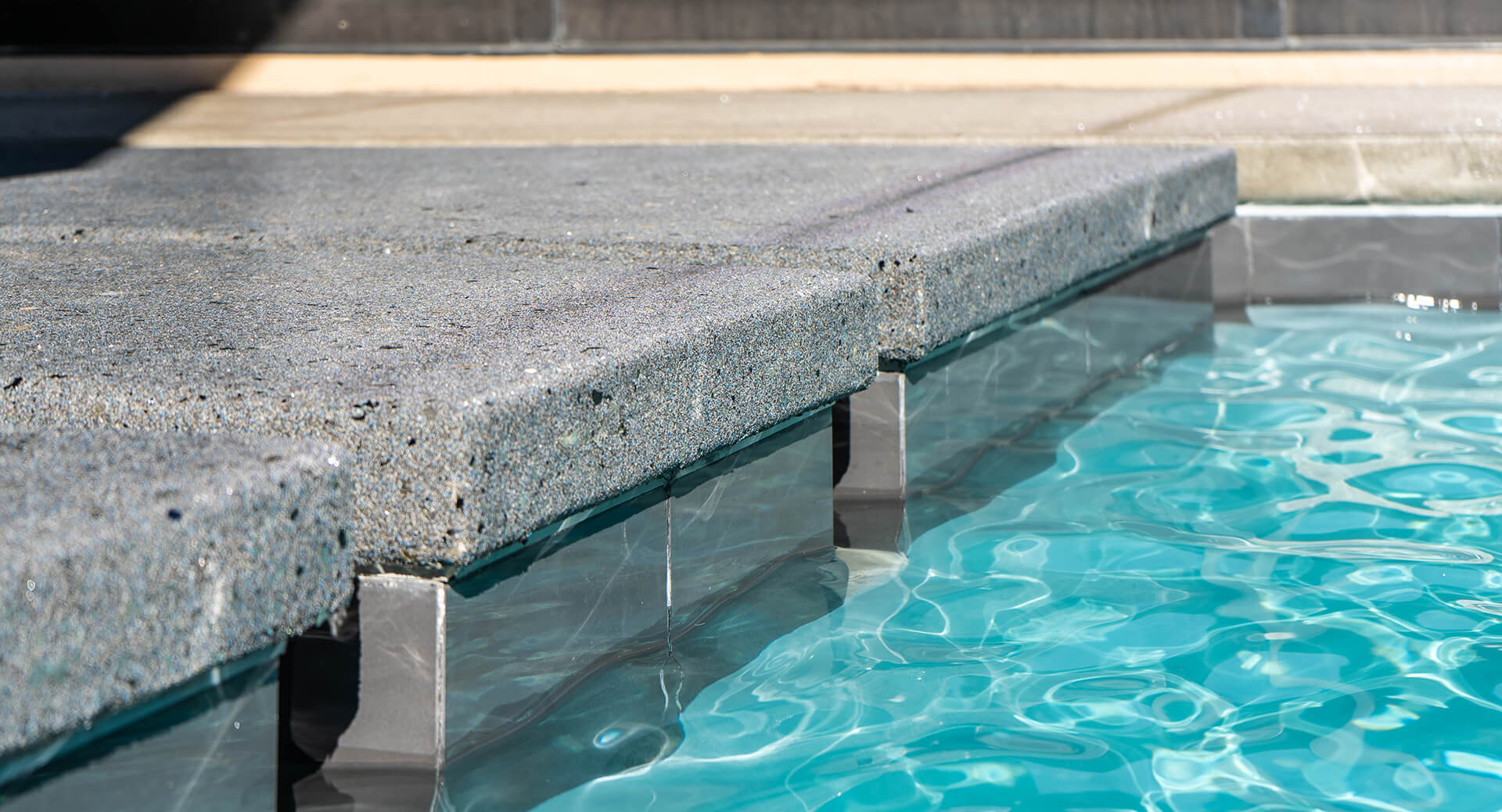 Custom Swimming Pool Floating Steppers - Clarity Pool Service of Las Vegas, Nevada