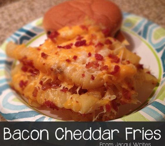 Recipe: Bacon Cheddar Fries