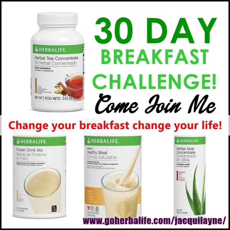 Join The 30 Day Breakfast Challenge
