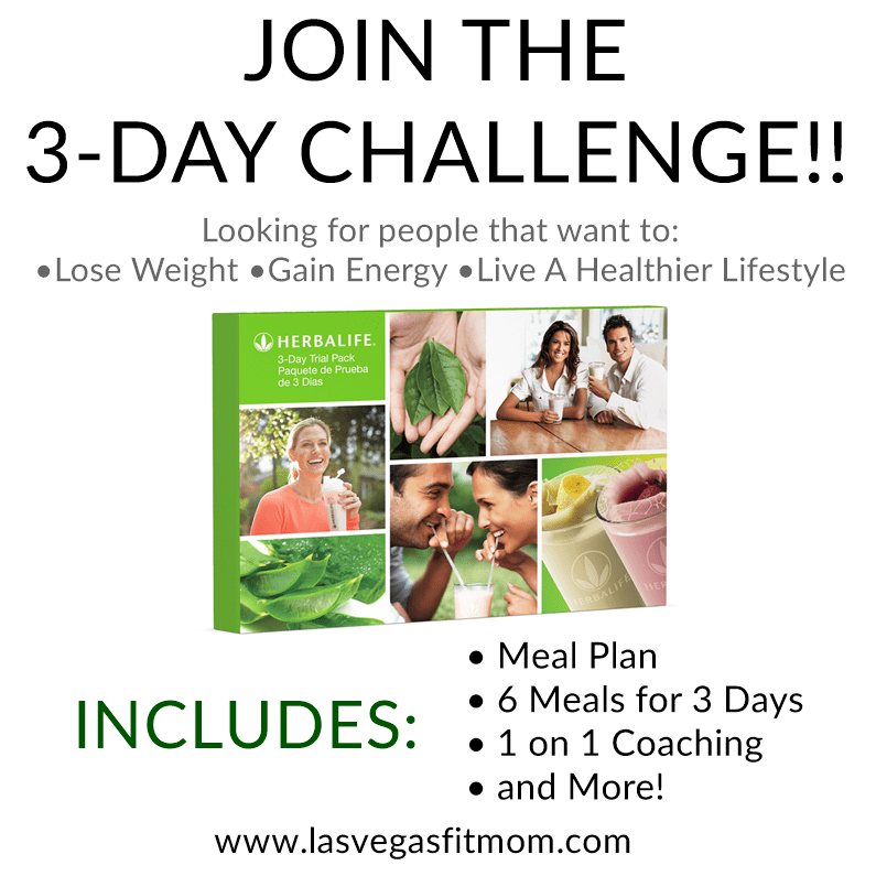 Join The 3 Day Challenge