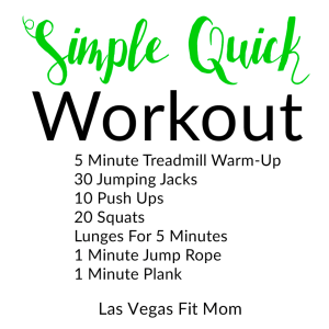 Simple Quick Workout