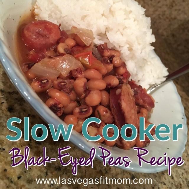 Slow Cooker Black-Eyed Peas Recipe