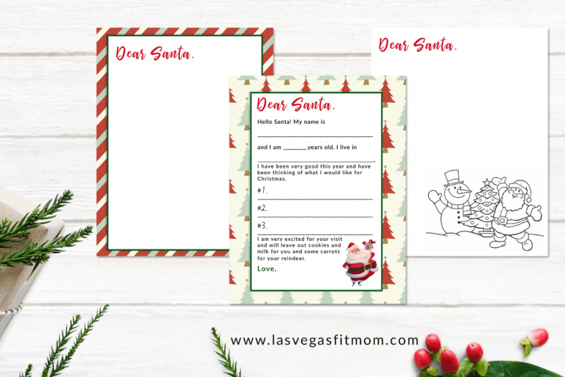 writing a letter to santa can be so exciting as a child i wanted to create a simple letter to santa template that younger children can easily fill out