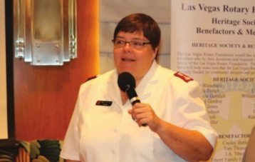 Member Kelly Pontsler announces her promotion to the Phoenix AZ Salvation Army post. Congratulations Kelly.