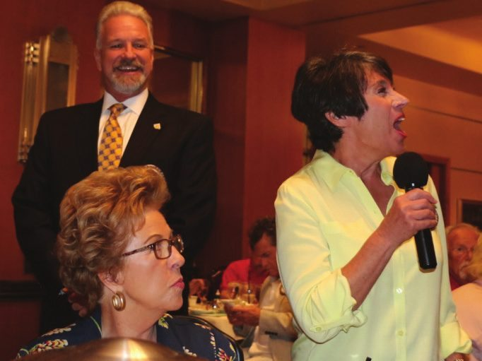 Nancy Slitz was happy to announce the next 25 Club Fellowship Meeting at the Springs Reserve.